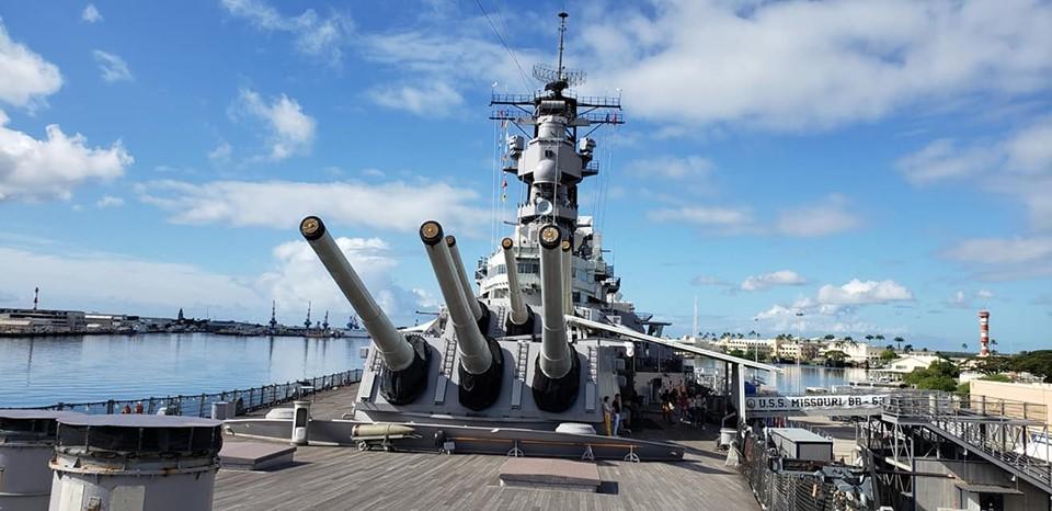想い出の戦艦ミズーリ号へ。_c0186691_12254823.jpg