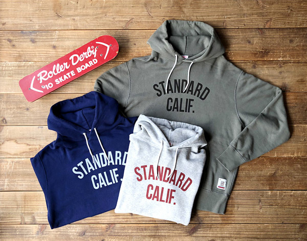 【DELIVERY】 STANDARD CALIFORNIA - Pullover Hood Sweat with Logo_a0076701_16545759.jpg