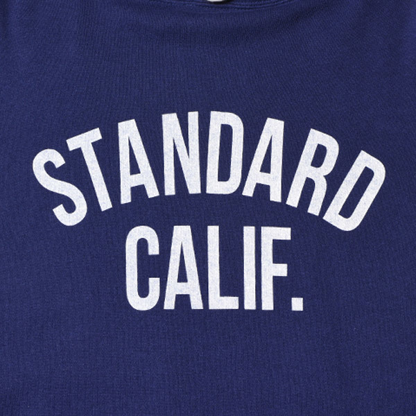 【DELIVERY】 STANDARD CALIFORNIA - Pullover Hood Sweat with Logo_a0076701_16594765.jpg