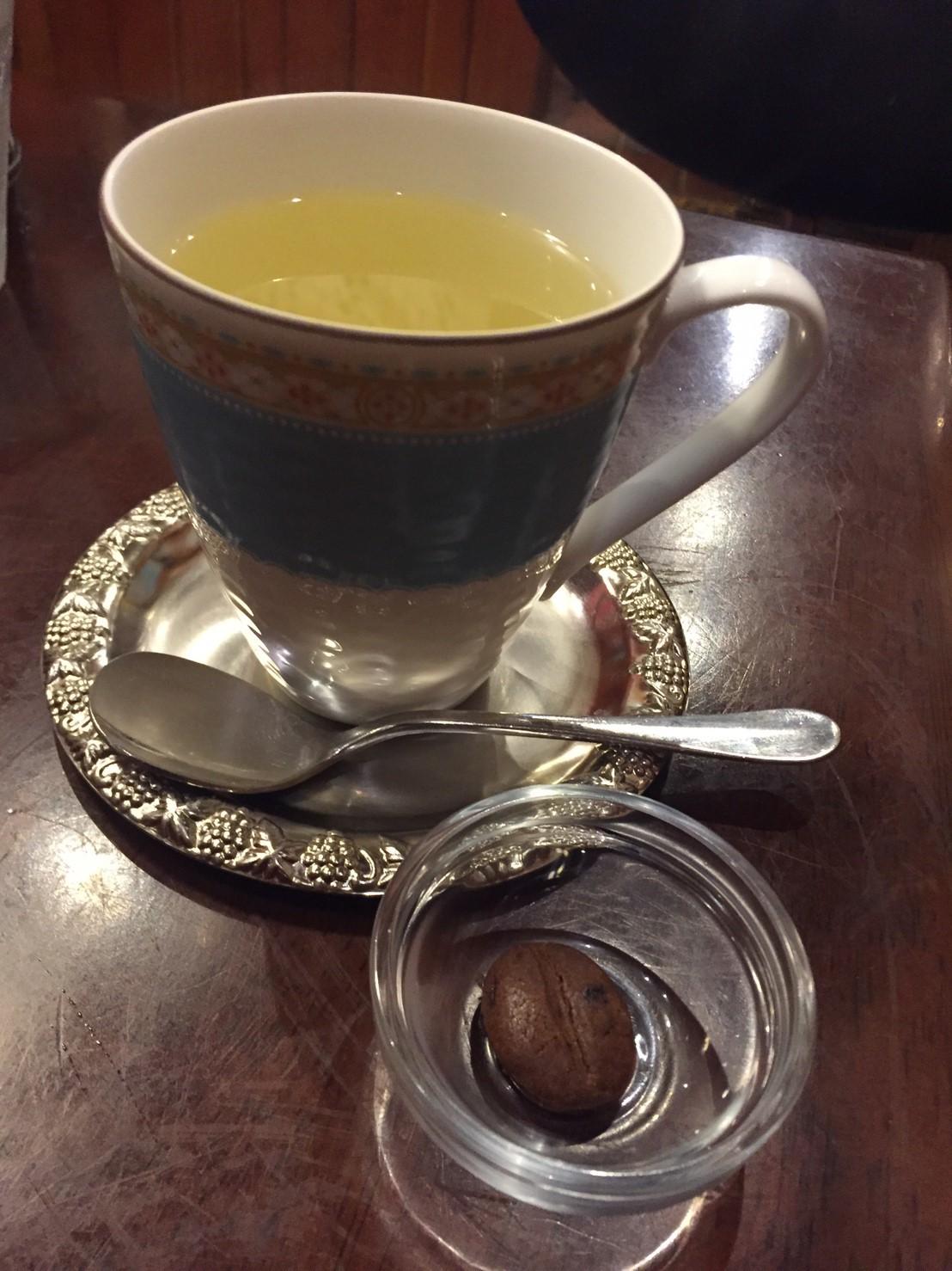 喫茶 1er ぷるみえ (鶏そぼろご飯に里芋のクリームソース)_e0115904_12311045.jpg