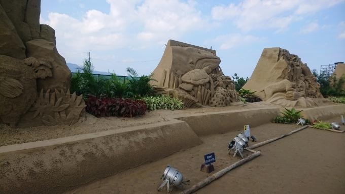 砂像展と植栽_f0035506_13463131.jpg