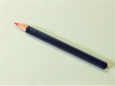 見て見て!その2(実験中の赤青鉛筆)。_f0220714_09063134.jpg
