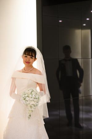 卒花嫁様アルバム センチュリーコート丸の内の花嫁様より 手作りのジャスミンのプリブーケ_a0042928_15422689.jpg
