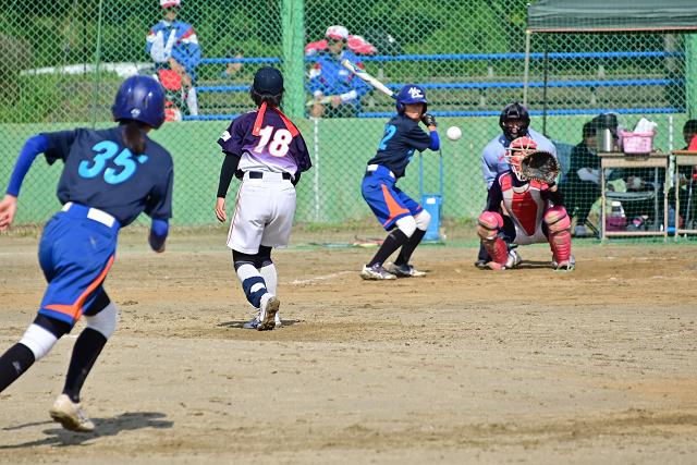 2019第14回ナガセケンコー杯二本松大会 那須中央VS高森_b0249247_22192194.jpg