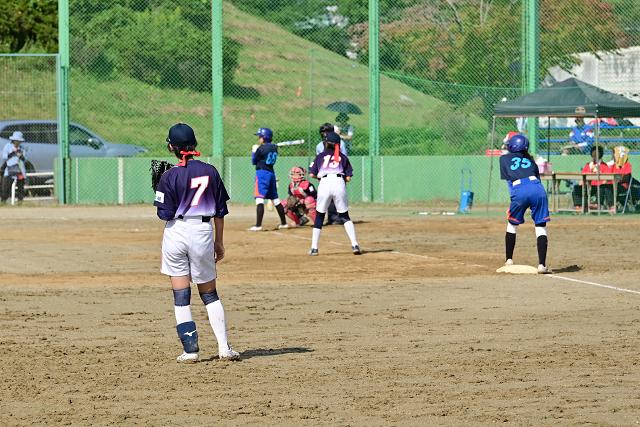 2019第14回ナガセケンコー杯二本松大会 那須中央VS高森_b0249247_22192549.jpg