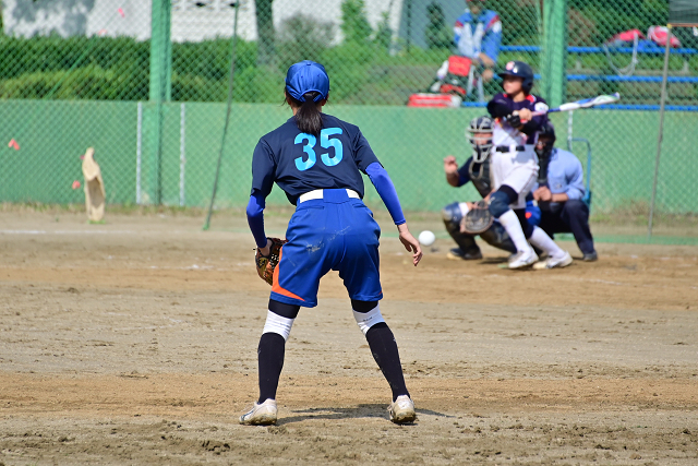 2019第14回ナガセケンコー杯二本松大会 那須中央VS高森_b0249247_22192938.jpg