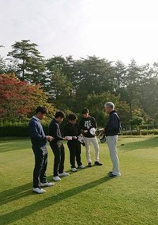 第33回 梶岡建設ジュニアゴルフ月例競技会_f0151251_09562735.jpg