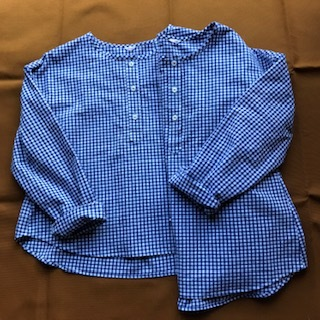 ギンガムチェックのワークシャツ_c0247253_09133223.jpg