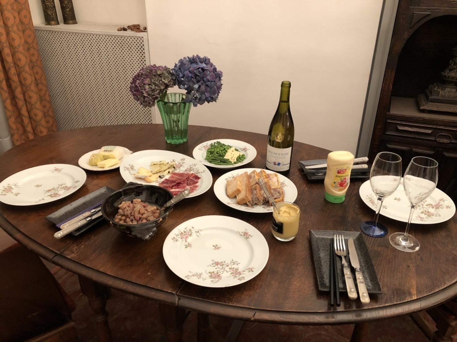 アパルトマンでのお食事♪_b0060363_23241243.jpg