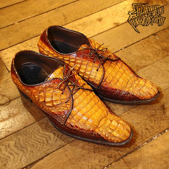 Vintage 東京シグマのワニ革チンピラ靴_e0243096_18220715.jpg