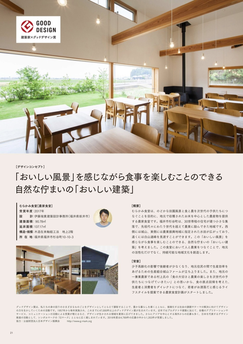 雑誌「A-Style」の「建築家×グッドデザイン賞」という欄で紹介されました。_f0165030_18162242.jpg