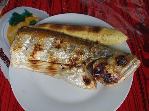 ベレン市場にて、幻の超高級魚アロワナでランチ_c0030645_09514657.jpg