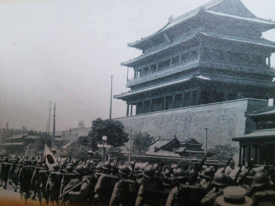 中国海軍のレーザー照射!!…満州事変と似ていませんか?_e0009056_12253864.jpg