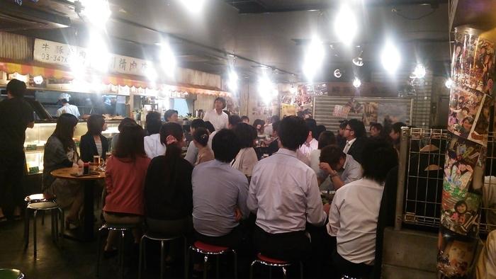 今年は新宿で新入社員歓迎会を(^_^)/□☆□\(^_^)_e0009056_12460183.jpg