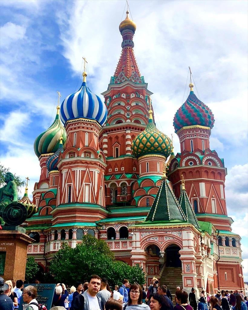 赤の広場は満員!@モスクワ_a0092659_22284356.jpg
