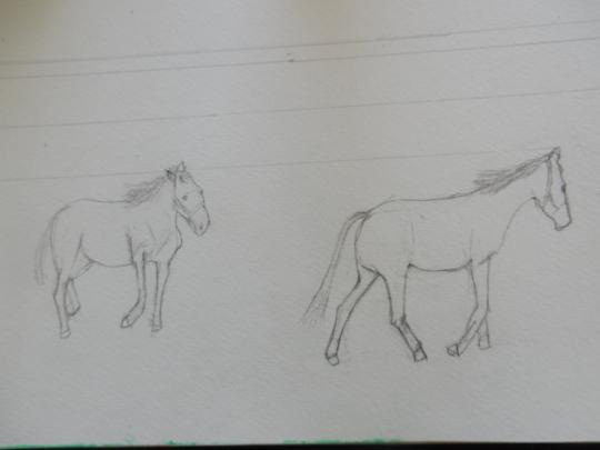 '19,10,30(水)馬のデッサンとレモンとハロウィン!_f0060461_10213282.jpg