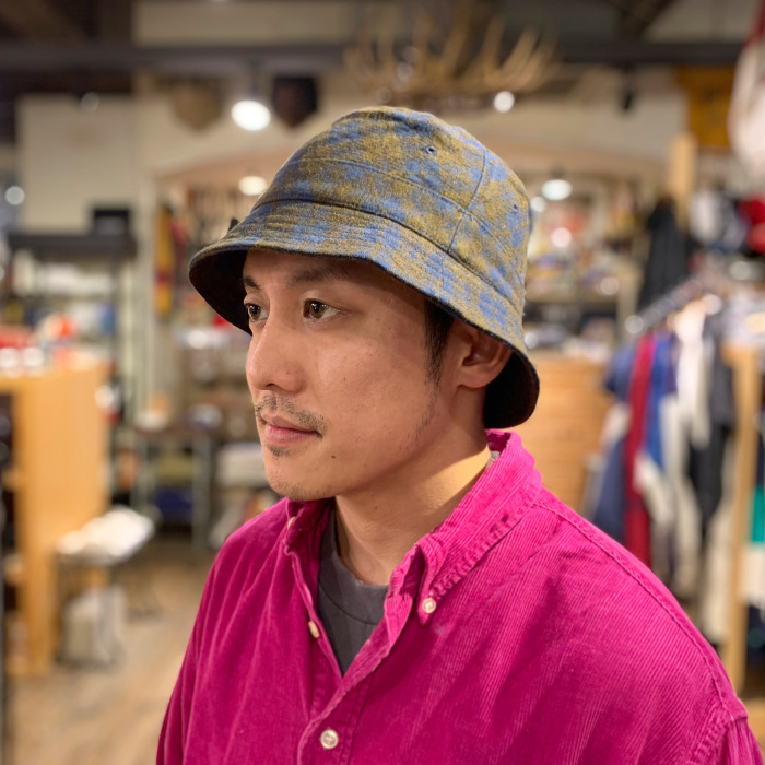 "Universal Works. ""BUCKET HAT\""_b0121563_14263512.jpeg"