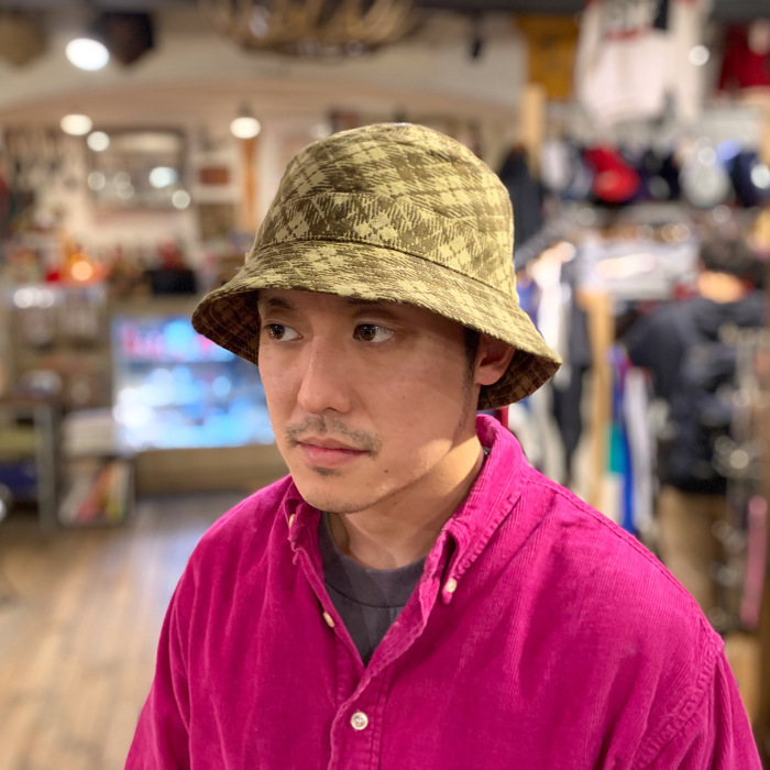 "Universal Works. ""BUCKET HAT\""_b0121563_14265646.jpeg"