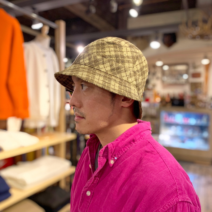 "Universal Works. ""BUCKET HAT\""_b0121563_14270519.jpeg"