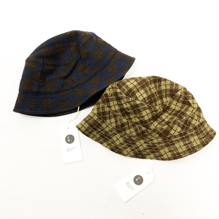 "Universal Works. ""BUCKET HAT\""_b0121563_15264569.jpg"