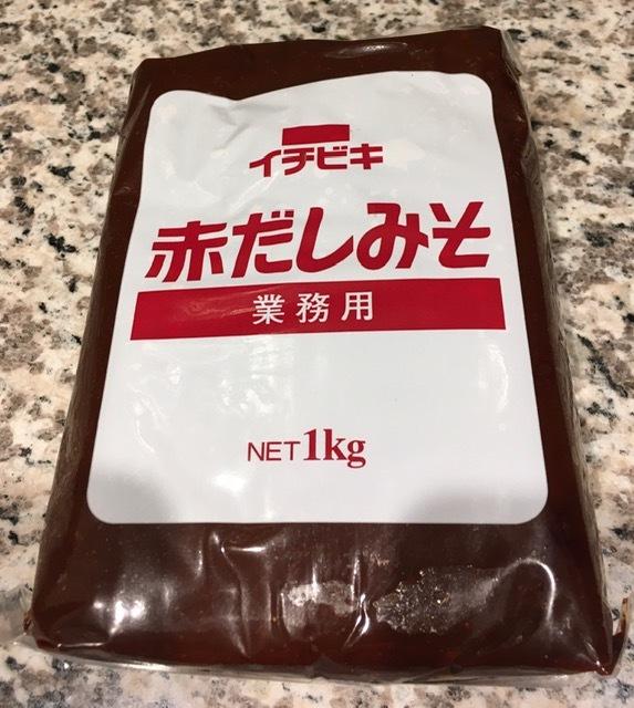 最近の日本食ー東京ラーメン、赤出し味噌_e0350971_23485690.jpg