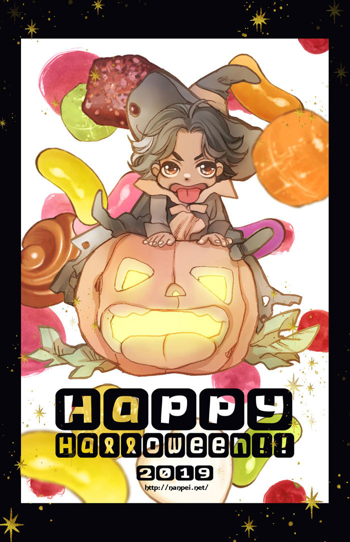 Happy Halloween!! 2019_a0342172_15304102.jpg