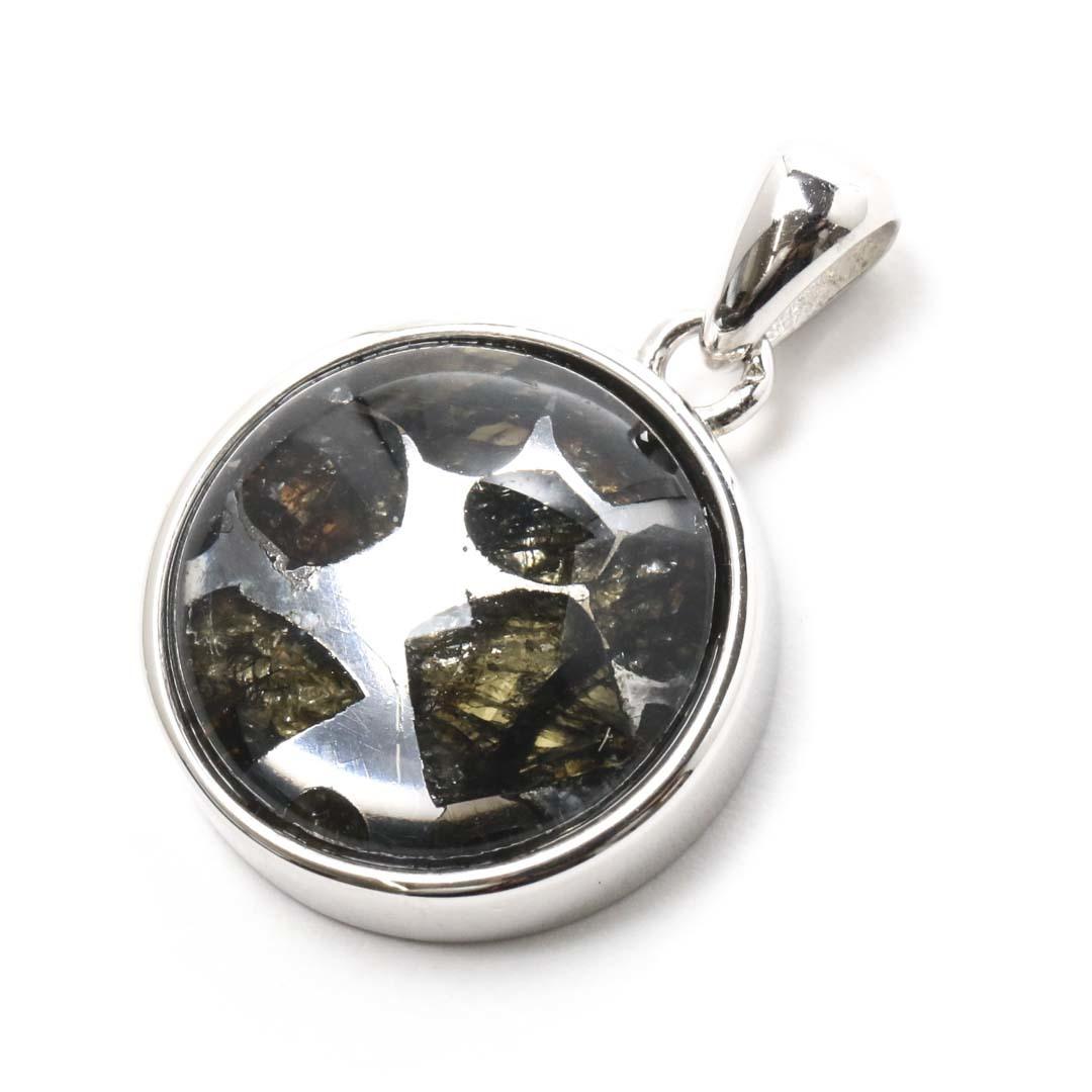 パライト隕石ペンダントトップ ケニア・セリコ産_d0303974_14285145.jpg