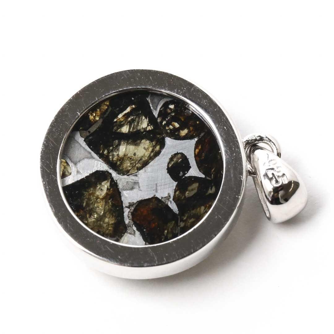 パライト隕石ペンダントトップ ケニア・セリコ産_d0303974_14435705.jpg