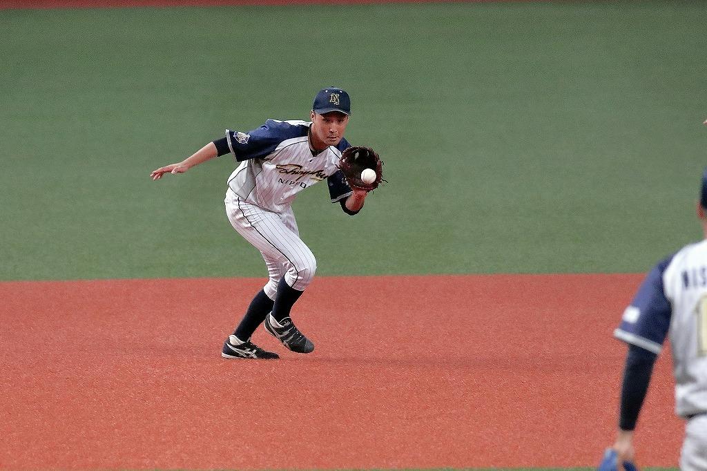 第45回社会人野球日本選手権大会 日本新薬vs三菱日立パワーシステムズ1_a0170082_19263361.jpg