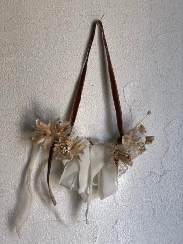✴︎小さなコサージュの壁飾りと森の小瓶のワークショップ✴︎_a0276988_13304415.jpg