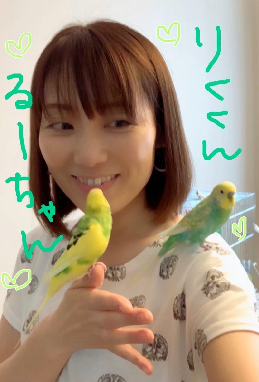 Joelleちゃんと🦜🦜と遊びました👩❤️👩_f0143188_23445209.jpg