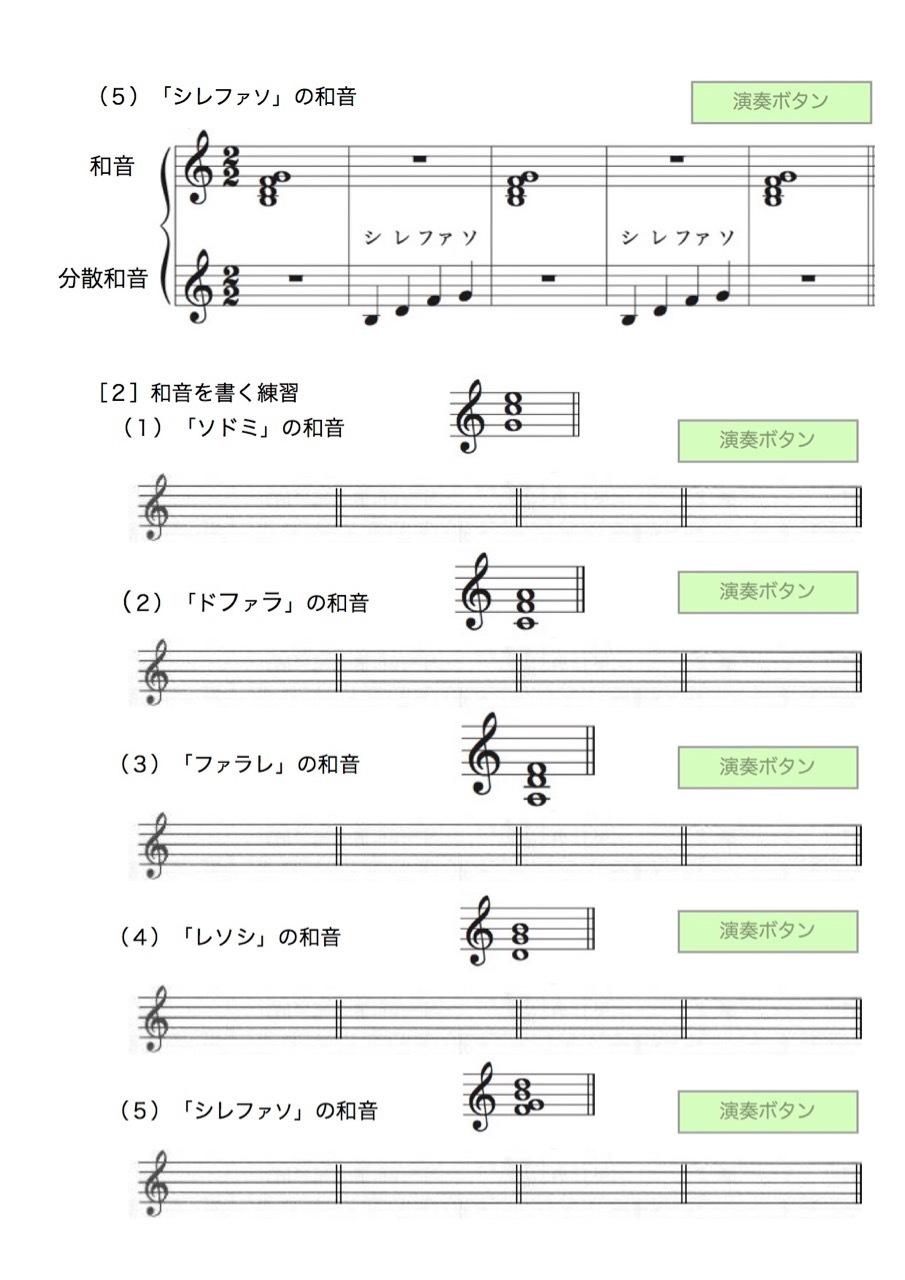 <お母さんと幼児の為の楽典>-37 「和音聴音への導入」-3_d0016397_12180773.jpg