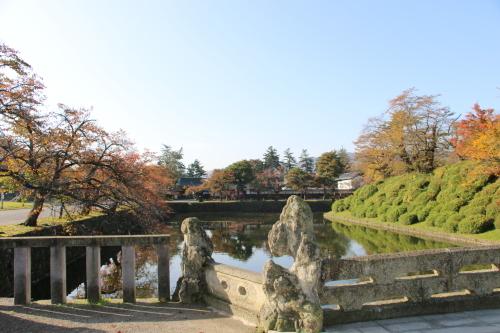 松が岬公園の朝、2019.10.31_c0075701_09372741.jpg