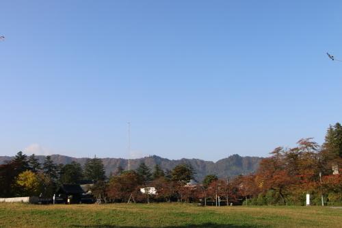 松が岬公園の朝、2019.10.31_c0075701_09384628.jpg