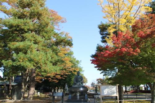 松が岬公園の朝、2019.10.31_c0075701_09385373.jpg