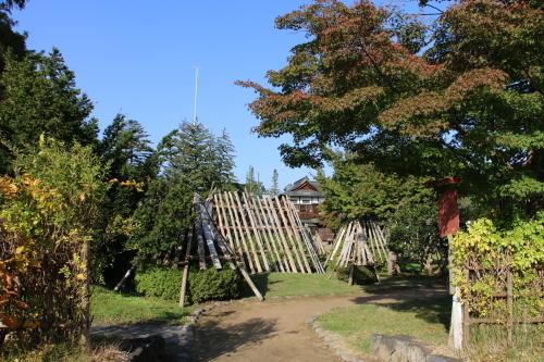 上杉伯爵邸(上杉記念館)の朝、2019.10.31_c0075701_09444212.jpg