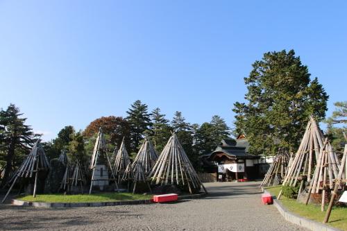 上杉伯爵邸(上杉記念館)の朝、2019.10.31_c0075701_09450831.jpg