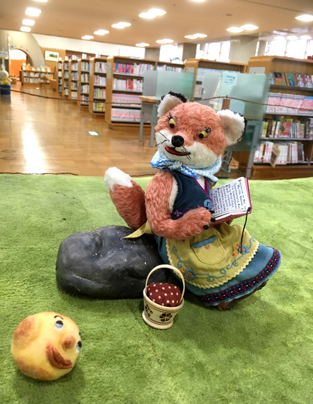 3連休は、まんまるパン Yoko-Bonの世界展へ!(田原本町立図書館)_d0077603_15183456.jpg