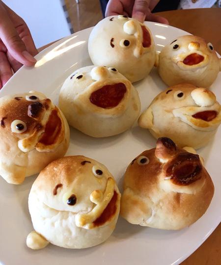3連休は、まんまるパン Yoko-Bonの世界展へ!(田原本町立図書館)_d0077603_15191560.jpg