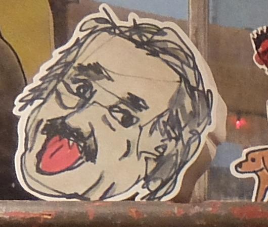 ベロ出しアインシュタインさんの顔アート・ブロック_b0007805_06382807.jpg