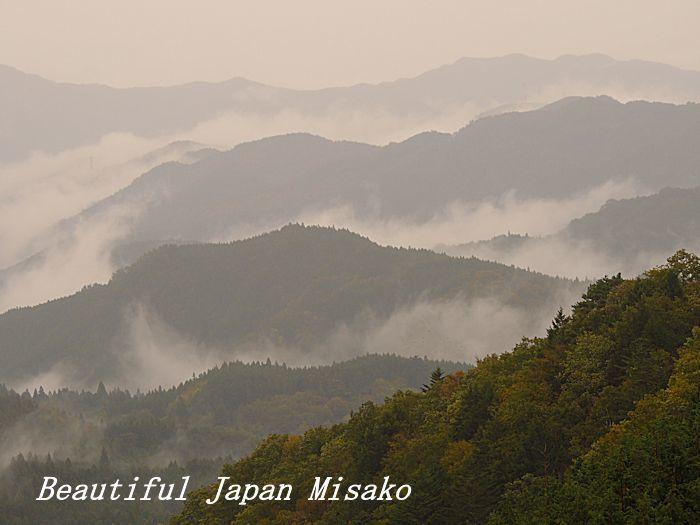 雨が降り、雲が湧く・゚☆、・:`☆・・゚・゚☆。。茶臼山 愛知県 10月29日_c0067206_14101892.jpg