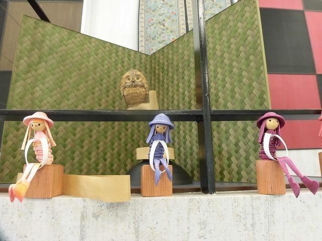 植田産業さんの紙バンドミュージアム「パピエス」で「ハロウィーン作品展」_f0141310_08110635.jpg