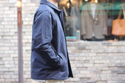 "「Jackman」経年変化も楽しめる ""Sweat Coach Jacket\"" ご紹介_f0191324_08285077.jpg"