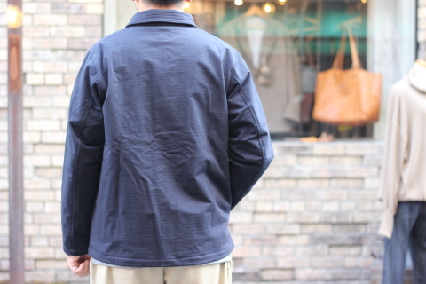 "「Jackman」経年変化も楽しめる ""Sweat Coach Jacket\"" ご紹介_f0191324_08285524.jpg"