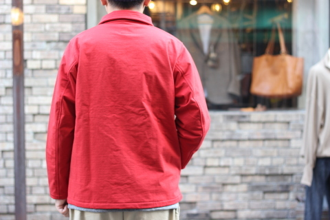 "「Jackman」経年変化も楽しめる ""Sweat Coach Jacket\"" ご紹介_f0191324_08312182.jpg"