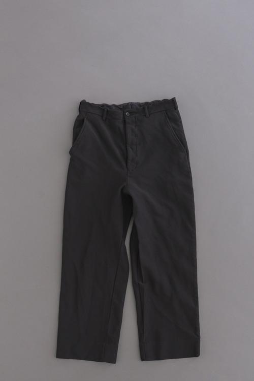 COMME des GARCONS HOMME Ester Twill Jersey Wide Pants (Black)_d0120442_12354650.jpg