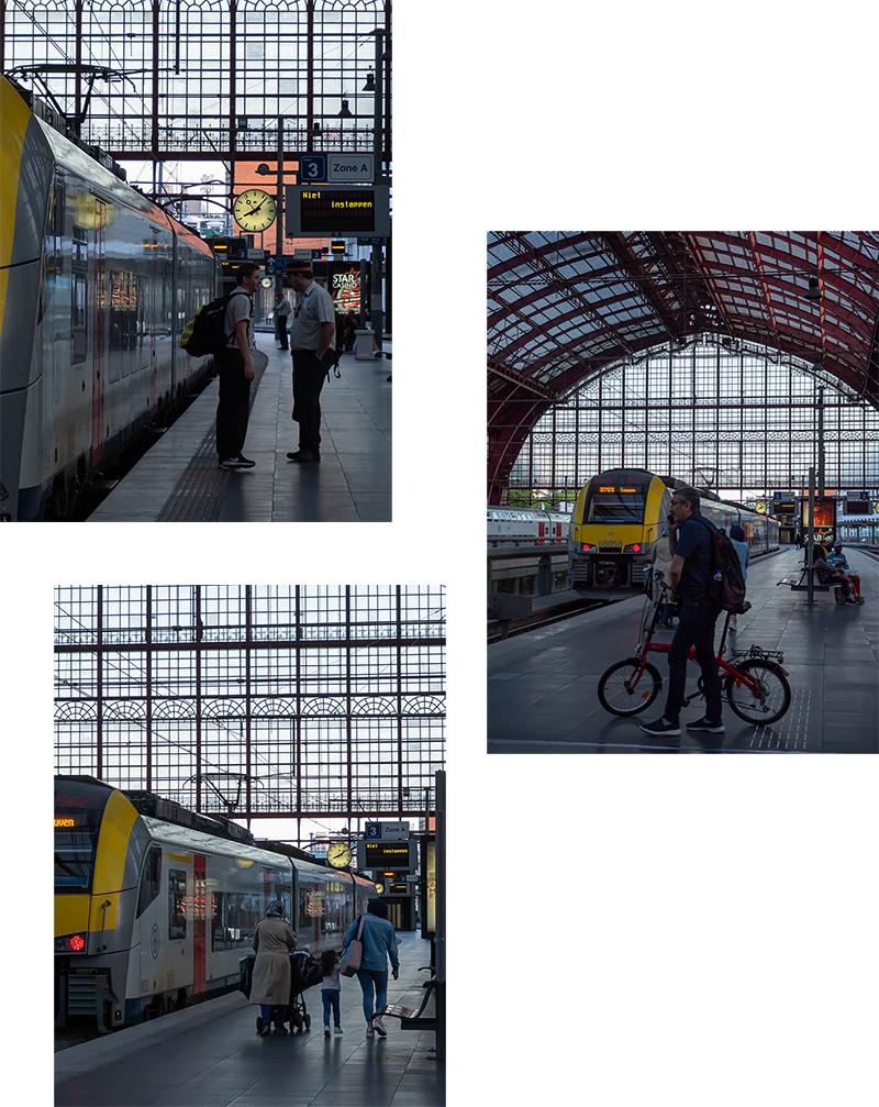 ベルギー・12 夜のアントウェルペン中央駅_a0003650_23092988.jpg