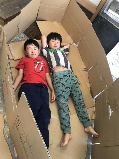 段ボール〜材料集め・作品の行方・エンドまで_d0076558_21145961.jpeg