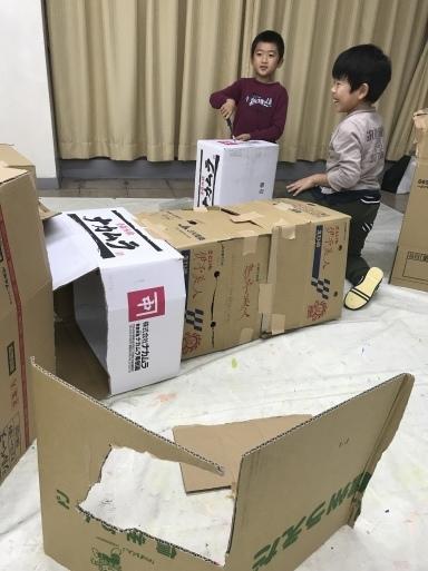 段ボール〜材料集め・作品の行方・エンドまで_d0076558_21255680.jpeg