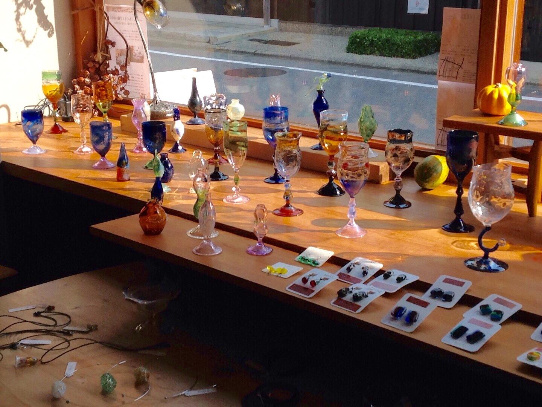ガラス工房Moana 伊藤由貴さんのガラス作品入荷しました_b0153663_23464305.jpeg